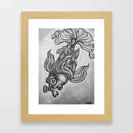 Hazard the goldfish Framed Art Print