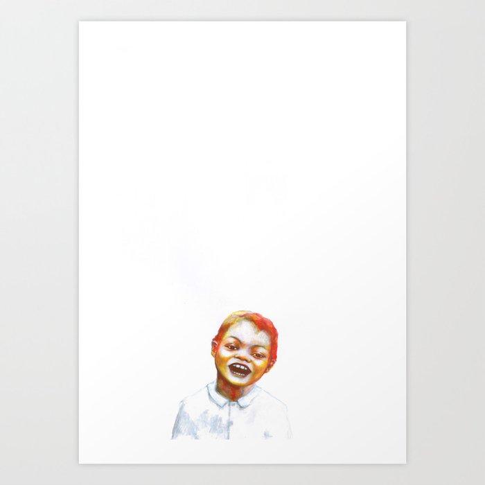 Les disparus 1 Art Print