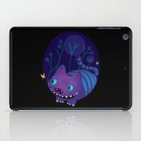 cheshire iPad Cases featuring Cheshire by Maria Jose Da Luz