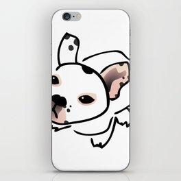 French Bulldog Pup Drawing iPhone Skin