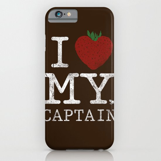 I Love My Captain iPhone & iPod Case