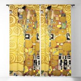 The Embrace (Fulfilment) by Gustav Klimt (1905) Blackout Curtain