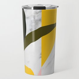 Tropical Marble Travel Mug