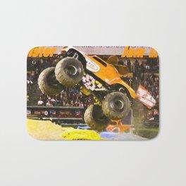 Awesome Monster Jam Trucks Bath Mat