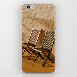 A Pair of Chairs iPhone Skin