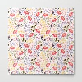 Haille's Bouquet Metal Print