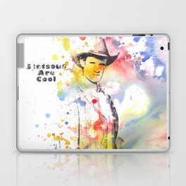 Stetsons are Cool From Doctor Who Laptop & iPad Skin