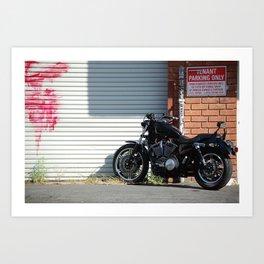 Unauthorized Vehicle Art Print
