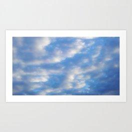 Morning Breeze Art Print