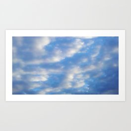 Morning Breeze Art Print