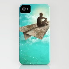 Paper Aeroplane Slim Case iPhone (4, 4s)