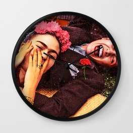 Frida y Chavela Wall Clock