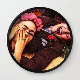 Frida y Chavela Wall Clock