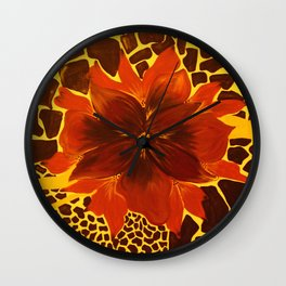 Gold Touch Wall Clock