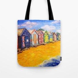Beach Houses Tote Bag