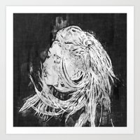 ellie goulding Art Prints featuring Ellie by Misha Libertee