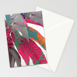 Tropical abstract 5 Stationery Cards