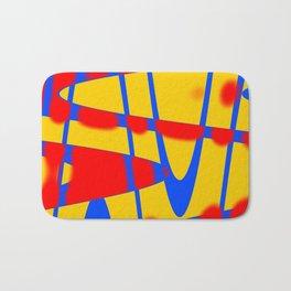 A arte das formas e cores!! Bath Mat