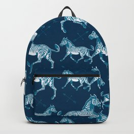 Galloping Zebras Backpack