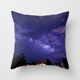 Meteor Shower Throw Pillow