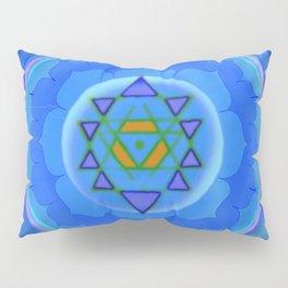 Inner Light Yantra Pillow Sham