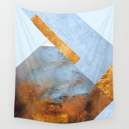 Modern Mountain No5-P1 Wall Tapestry