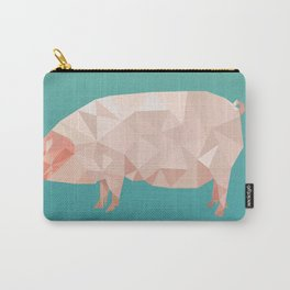 Geometric Pig Carry-All Pouch