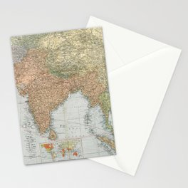 Flemmings Kriegskarten / Flemming's War Maps (1914) - 013 British India Stationery Cards