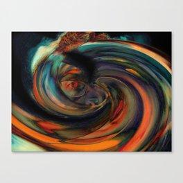 Eyes Like Whirlpools Canvas Print