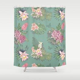 Fancy flowers Shower Curtain