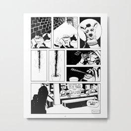 """Dog Shit Drink Nice"" Metal Print"