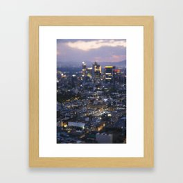 Small Places from the Big Mexico City Series (VI) Framed Art Print
