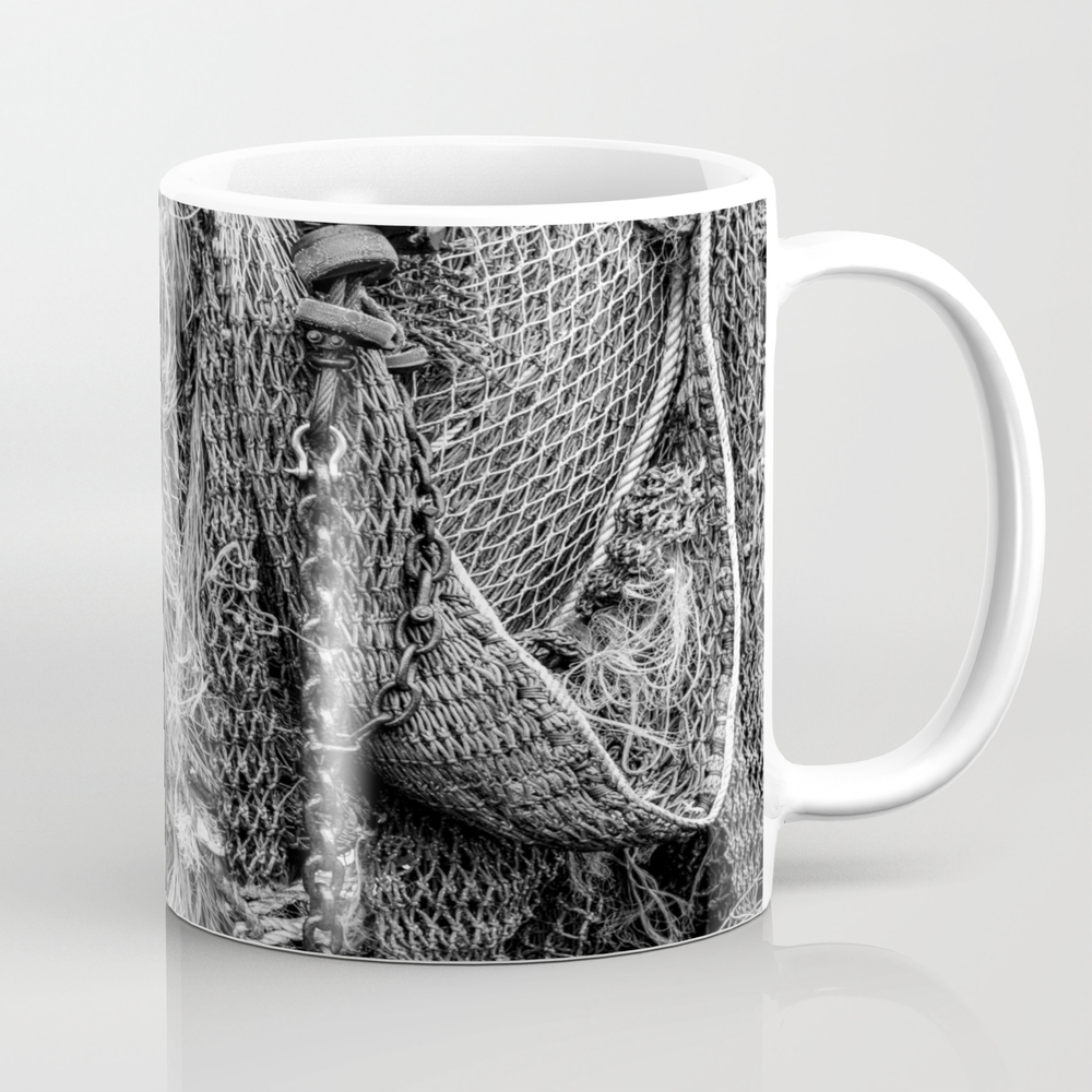 Fishing Nets Coffee Cup by Davehare MUG8315252