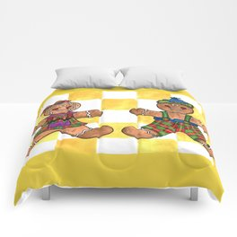 The Gingerbread Twins Comforters