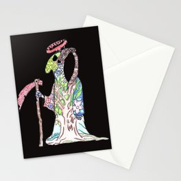 Death Awaits Stationery Cards