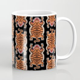 TIBETAN TIGER - ALL OVER (black) Coffee Mug