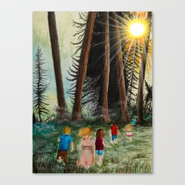 The Call of the Wild Canvas Print