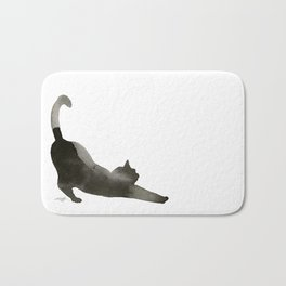 I Love Cats No.1 by Kathy Morton Stanion Bath Mat