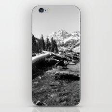 Maroon Bells Mountains Colorado iPhone Skin