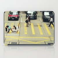 musa iPad Cases featuring Dancers Stopping Traffic by Musa Do Verao - Camilla Warburton