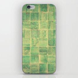 Jade Tiles iPhone Skin