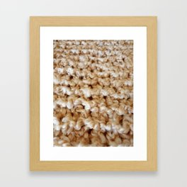 Wool 2 Framed Art Print