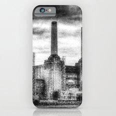 Battersea Power-Station London Snow Slim Case iPhone 6s
