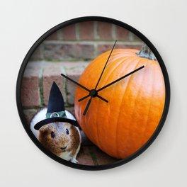 Halloween Piggie Wall Clock