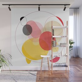 Color Geometry Wall Mural