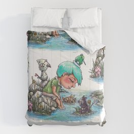 By the River's Edge Comforters