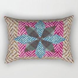 Tweed star Rectangular Pillow