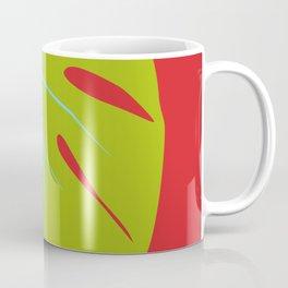 Tropical Leaf - Young Monstera Coffee Mug
