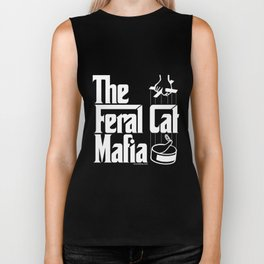 The Feral Cat Mafia Biker Tank