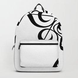 Treble Clef Pentagon Backpack